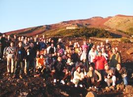 富士登山参加の面々