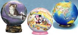 球型3Dパズル