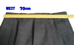 以前のウエスト約70cm