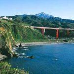 米山と米山大橋