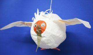 わが社の朱鷺(紙風船)