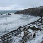 厳冬の青海川