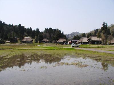 荻ノ島環状かやぶき集落
