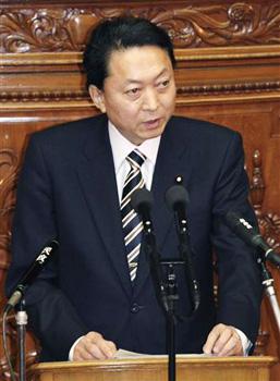 鳩山総理の所信表明演説