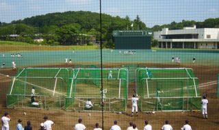 大学の球場