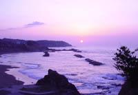 日本海に沈む夕日はいつの季節もきれい