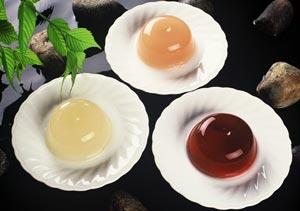 フルーツゼリー ルレックチェ・木いちご・白桃