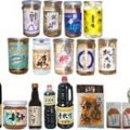 新潟県内各蔵のカップ酒やこだわりの越後美味食品の数々