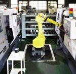 ロボットによる自動加工